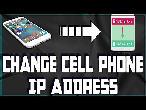 How To Change Cell Phone's IP Address