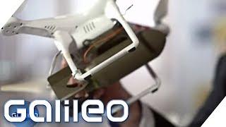 Wie können wir uns gegen Drohnen wehren? | Galileo | ProSieben