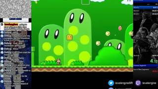 Secret Maryo Chronicles, playing/building levels/running for sub 30! (3)