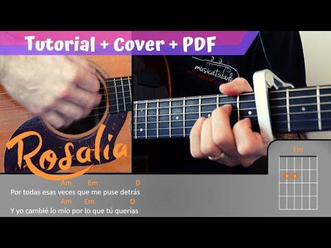 Dolerme ROSALIA FACIL - 3 Acordes | PDF Gratis + Tutorial + Cover |