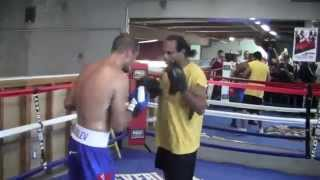 Sergey Kovalev COMPLETE POWER PUNCH MITT WORKOUT!