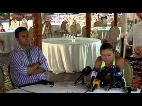 """Simona Halep: """"Sunt mai relaxată, abia aștept turneele. Încep sezonul de hard la Toronto"""""""