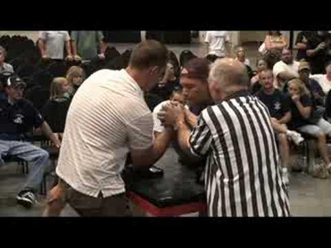 Arm Wrestling: George Stanton vs. Ray Berry