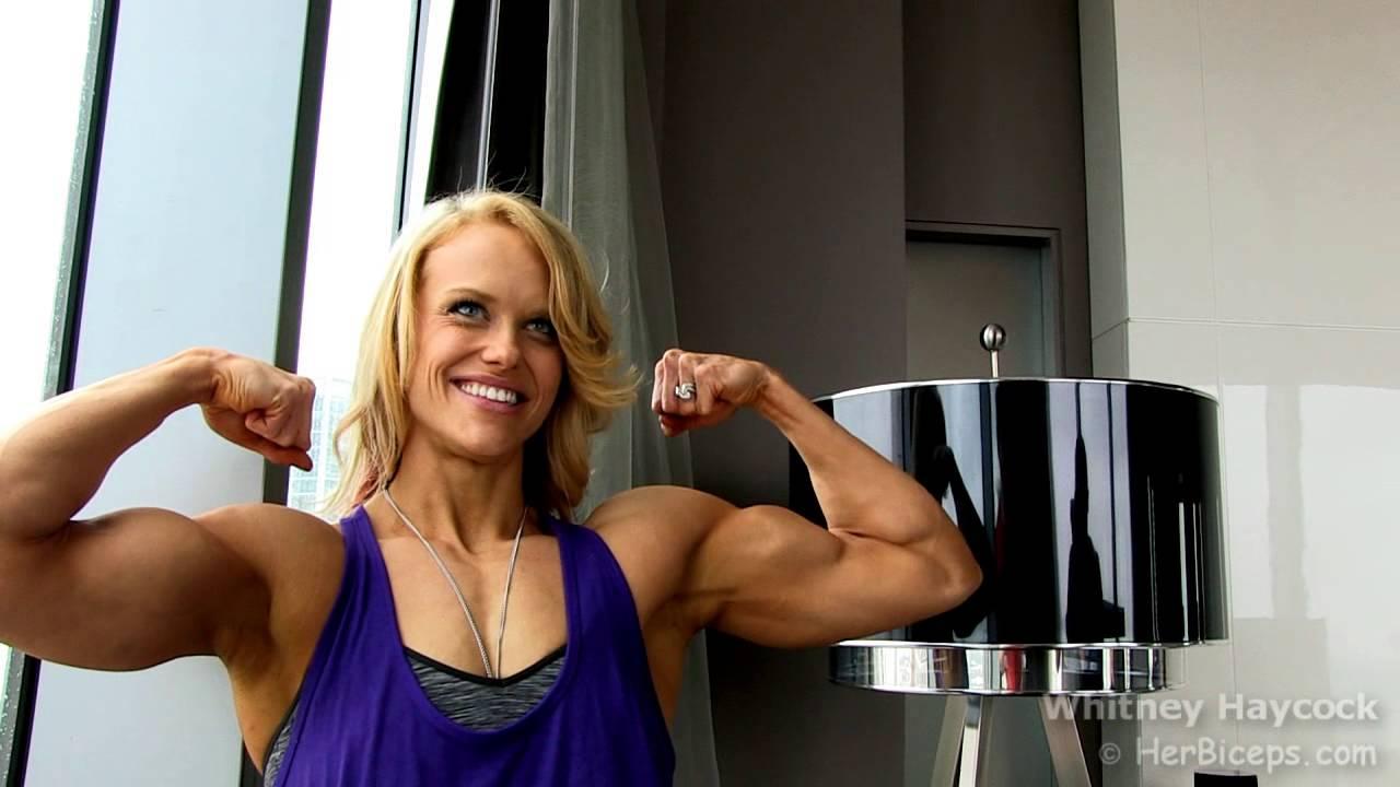 Whitney Haycock Arm Measurement Youtube