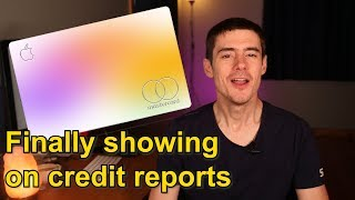 Apple Credit Card Finally Showing on Credit Reports