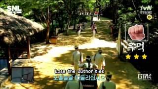 SNL Korea - GTA Joseon (Eng subs) / SNL 코리아 - GTA 조선 (영어 자막)