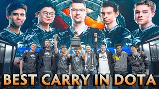 BEST CARRY in Dota for the moment — BIGGEST DISCOVERY of 2018-2019 season Secret.Nisha