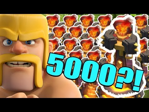 5000 INFERNOS!?  TH12 Farm to Max | Clash of Clans