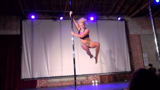 California Pole Dance Championship 2014 Pro Div-Mary Kolacinski-1st Place WInner