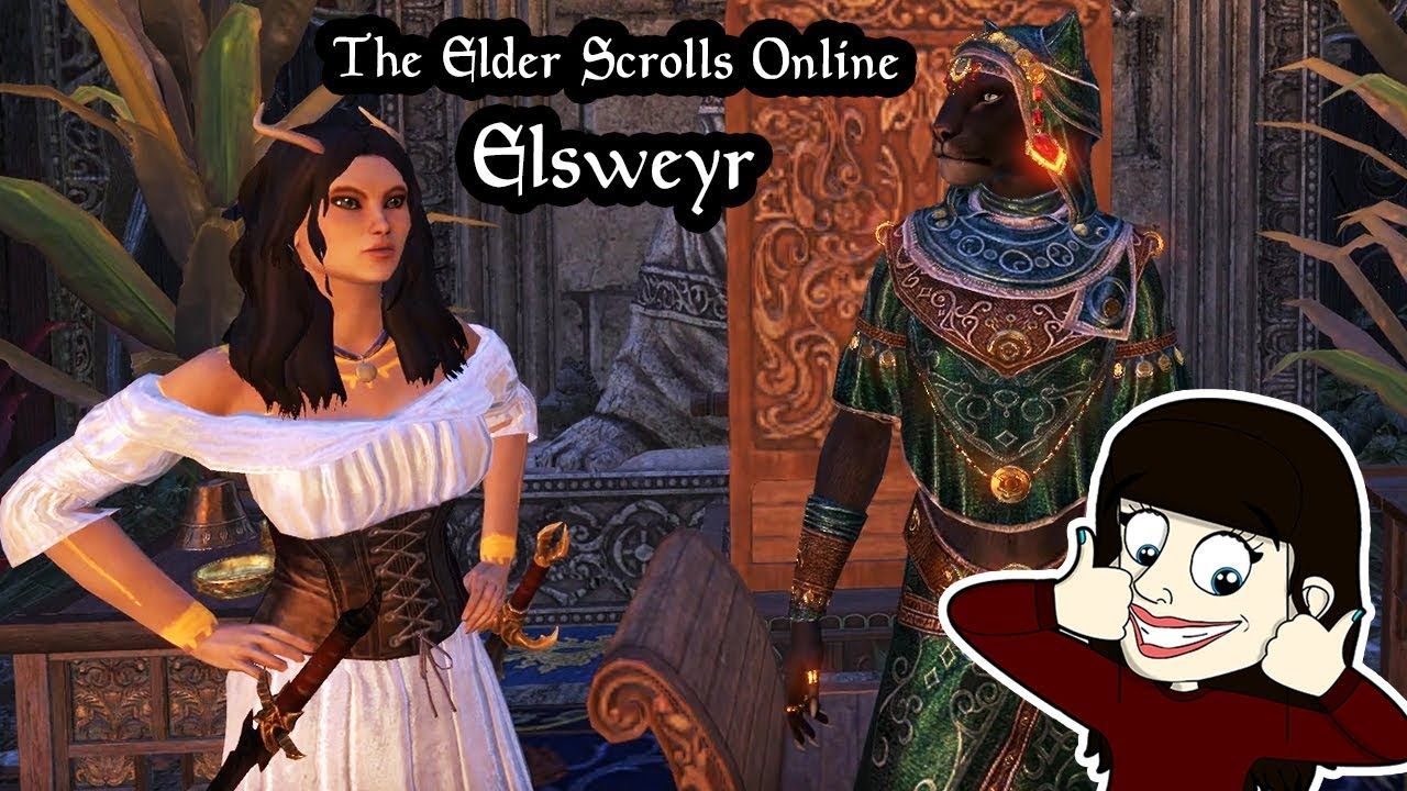 The Elder Scrolls Online Elsweyr - Main Quest Ending