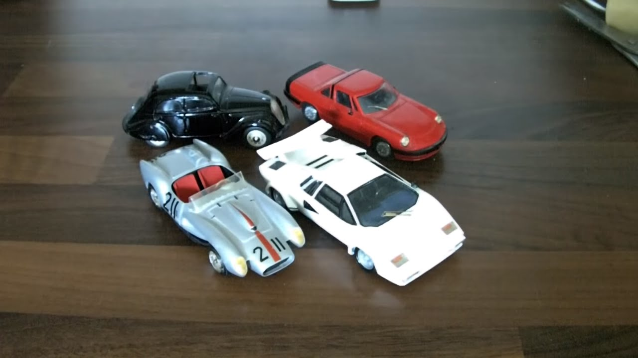 Resin Model Cars By Record Lamborghini Countach 43rd Scale Etc
