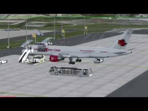 P3D v3.2 Boeing 757-200F Lisbon (LPPT) to Madeira (LPMA)