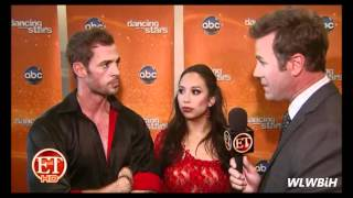 William Levy @WillyLevy29 in backstage after the 'DWTS' finals - week10 II ETOnline