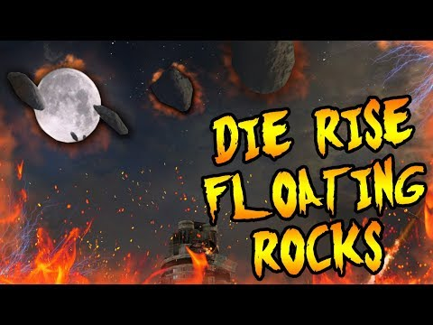 The FLOATING METEORS in DIE RISE! Where is LEROY from? Black Ops 2 Zombies Easter Egg Storyline