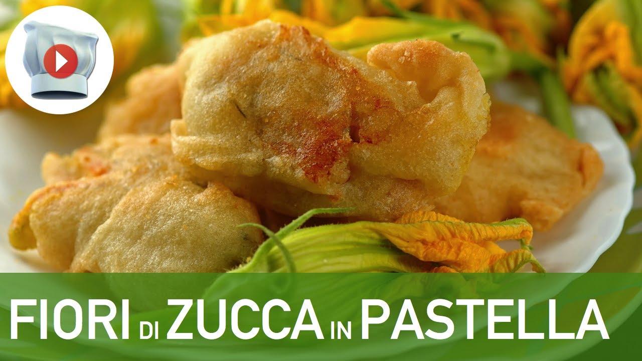 Fiori di zucca in pastella youtube for Pastella per fiori di zucca fritti