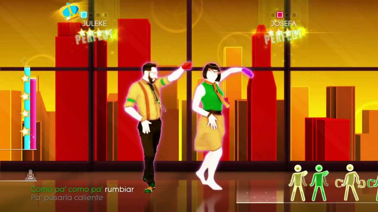 Just Dance 2014 Wii U Gameplay - Daddy Yankee: Limbo