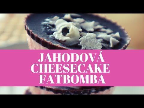 Jahodova Cheesecake Fatbomba