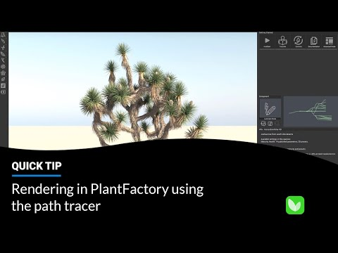 E-on Software Spring Release: Rendering in PlantFactory using the Path Tracer thumbnail
