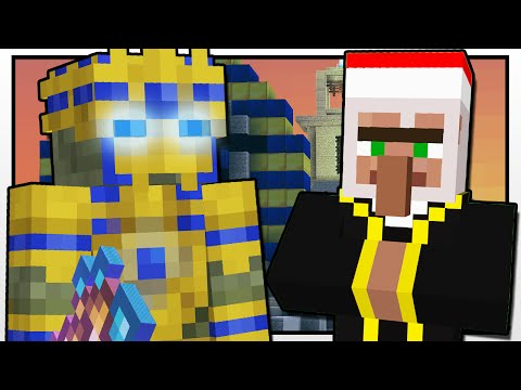 Thumbnail: Minecraft | EGYPTIAN TREASURE PYRAMID!! | Custom Mod Adventure