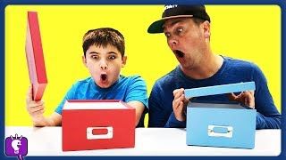 SECRET BOX!! Challenge with HobbyKidsTV