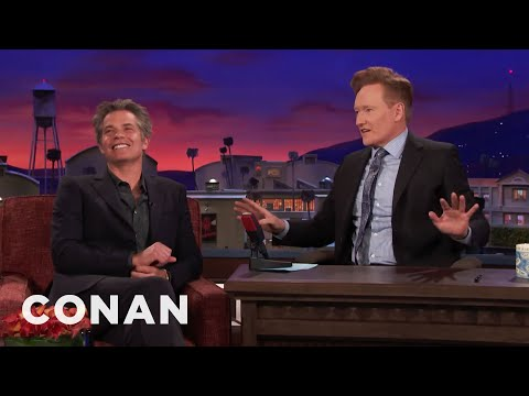 "Timothy Olyphant Forgets How To Plug ""Santa Clarita Diet""  - CONAN on TBS"