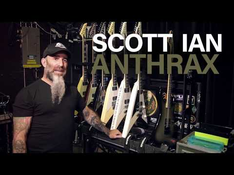 Anthrax's Scott Ian is Hooked on EVH Amps