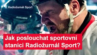 Jak si naladit Radiožurnál sport?