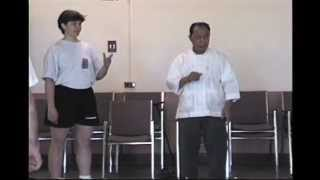 Wang Yen-nien Tuishou: Becoming Advantageous (from Exercise 10)
