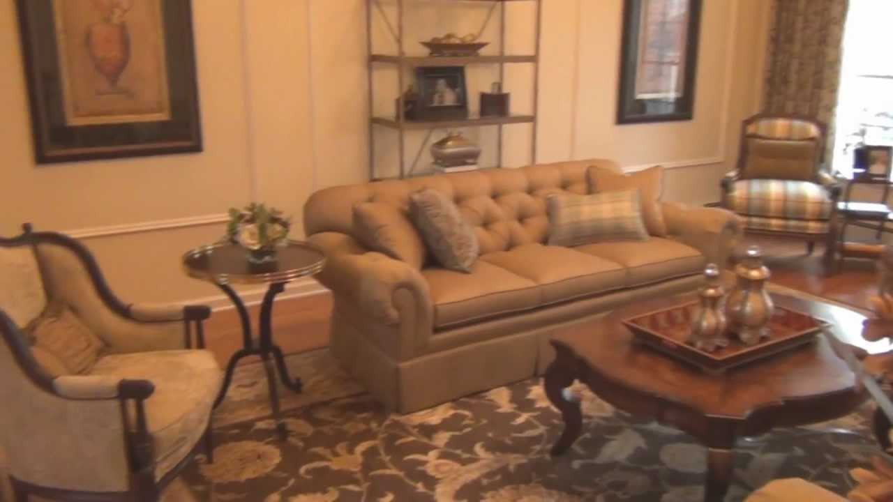 Living Room Decorating. Classic Living Room Furniture - YouTube