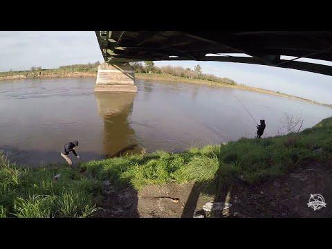 Pesca en la cascada canal 15 Agosto 2017
