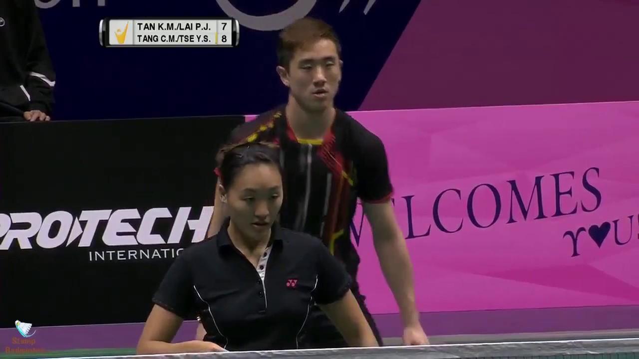 HD 2016 Macau Open SF XD TAN Kian Meng LAI Pei Jing vs TANG Chun