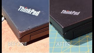Make a Thinkpad Laptop Look Brand New With Plasti Dip