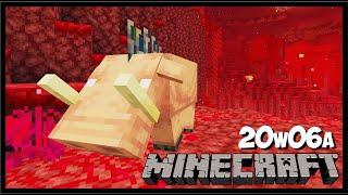 YENİ NETHER  O_O  - Minecraft 1.16 - Snapshot 20w06a