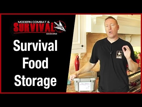 Emergency Survival Food Storage | Food4Patriots Review
