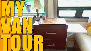 VAN TOUR | Living With Modifications On The Inside