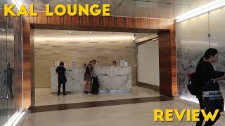 KAL Lounge at LAX REVIEW (Priority Pass)