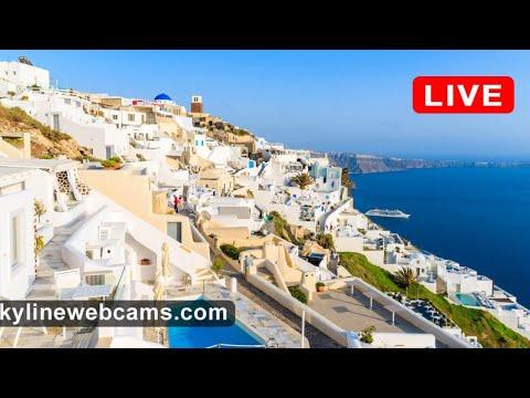 🔴 Live Webcam from Santorini - Greece