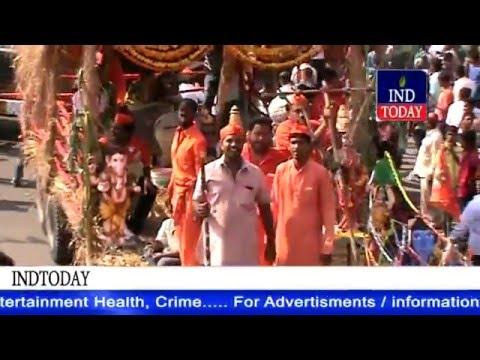Raja Singh Bold Speech At Sri Rama Navami Shoba Yatra 2016 | Raja Singh | Purana Pul, Hyderabad