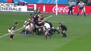 RWC2015 New Zealand vs South Africa