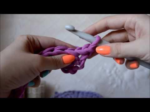 Вязание крючком из толстых ниток