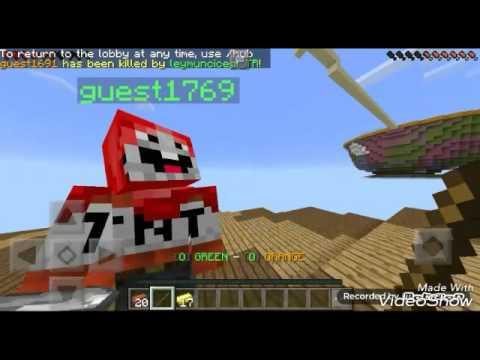Download Minecraft Pe=Bed wars ortadak mahsur kaldık