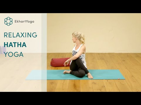 30 minute free relaxing Hatha Yoga class, with Esther Ekhart