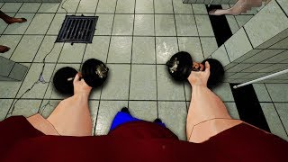 I Worked Out in The Gym Showers - Gym Simulator