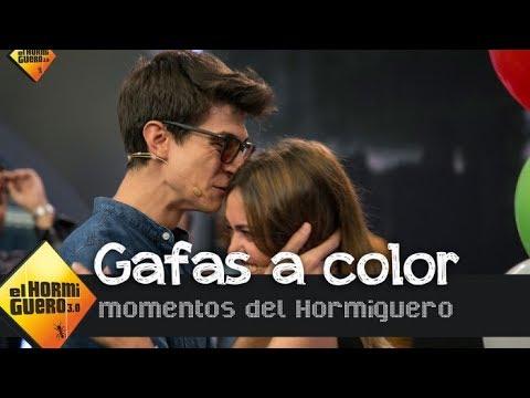 La emoción de tres personas daltónicas al distinguir los colores por primera vez - El Hormiguero 3.0