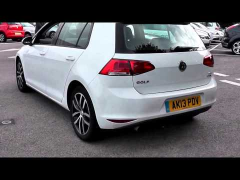 2013 volkswagen golf se pure white ak13pdv at jcb vw. Black Bedroom Furniture Sets. Home Design Ideas