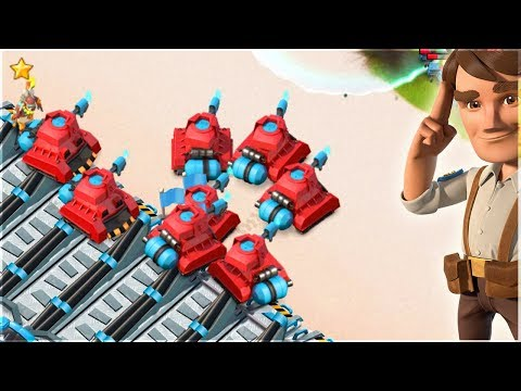 Boom Beach INSANE All Scorcher RUSH!!
