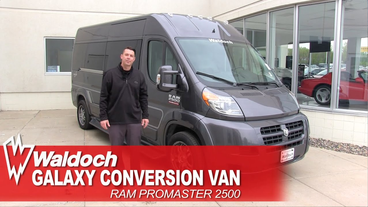 New Waldoch Galaxy Conversion Van Ram Promaster 2500 Burnsville Minneapolis St Paul MN