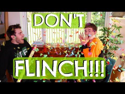 DON'T FLINCH CHALLENGE WITH ALFIE