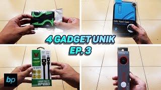 4 GADGET UNIK Eps. 3 TRIPOD MINI?? dll ada GIVEAWAY! Unboxing & Review INDONESIA   Buka paket