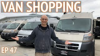 We're Going Van Shopping | Camper Van Life S1:E47